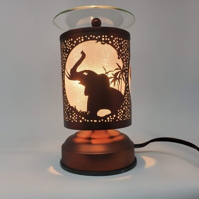 ELEPHANT COPPER TOUCH LAMP