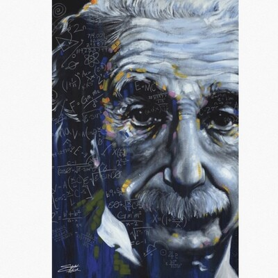 EINSTEIN ITS ALL RELATIVE POSTER
