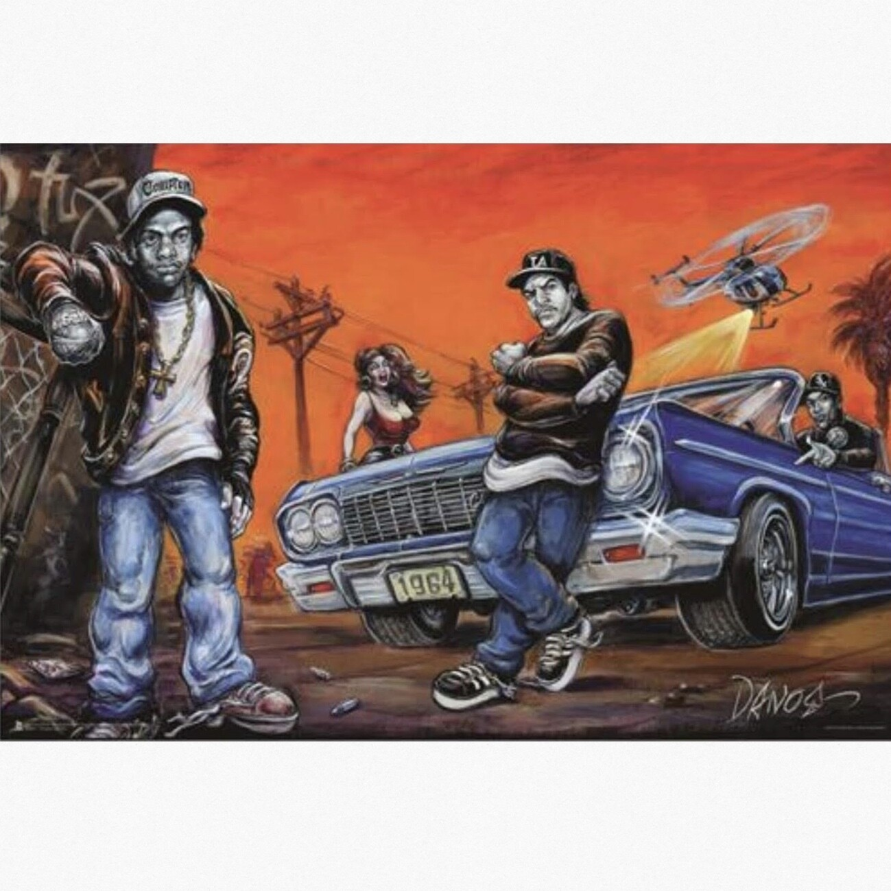 COMPTON ART BY DANO POSTER