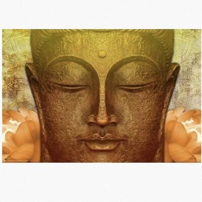 BUDDHA GOLD POSTER