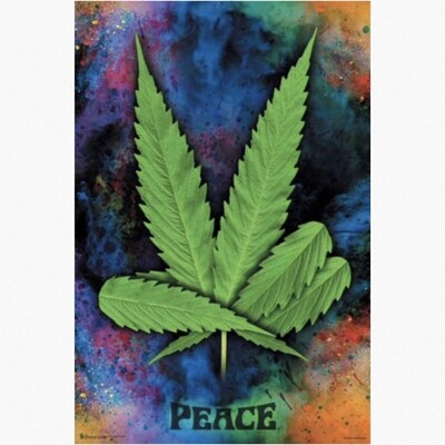 LEAF PEACE POSTER