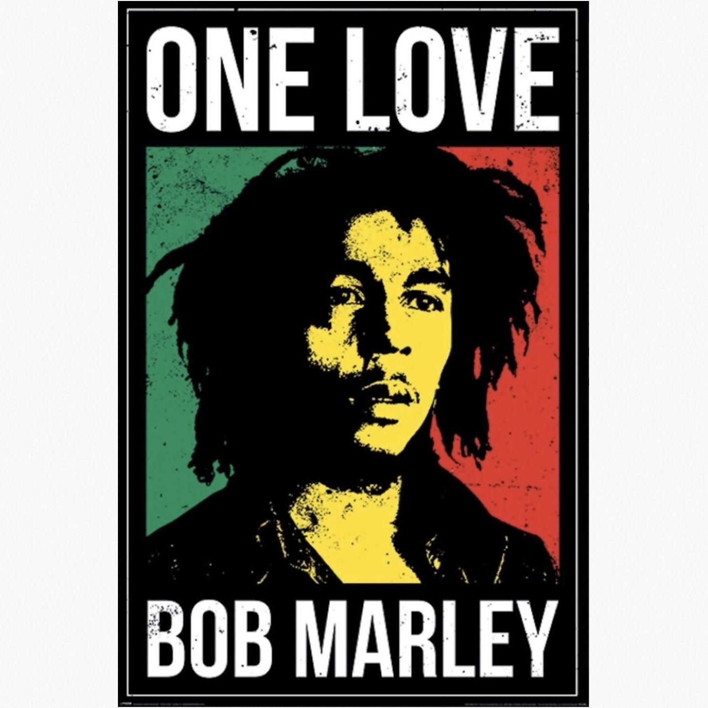 BOB MARLEY ONE LOVE POSTER