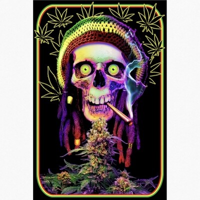 GREATFUL DREADS BLACKLIGHT POSTER