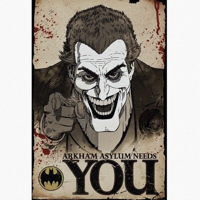 JOKER NEEDS YOU POSTER
