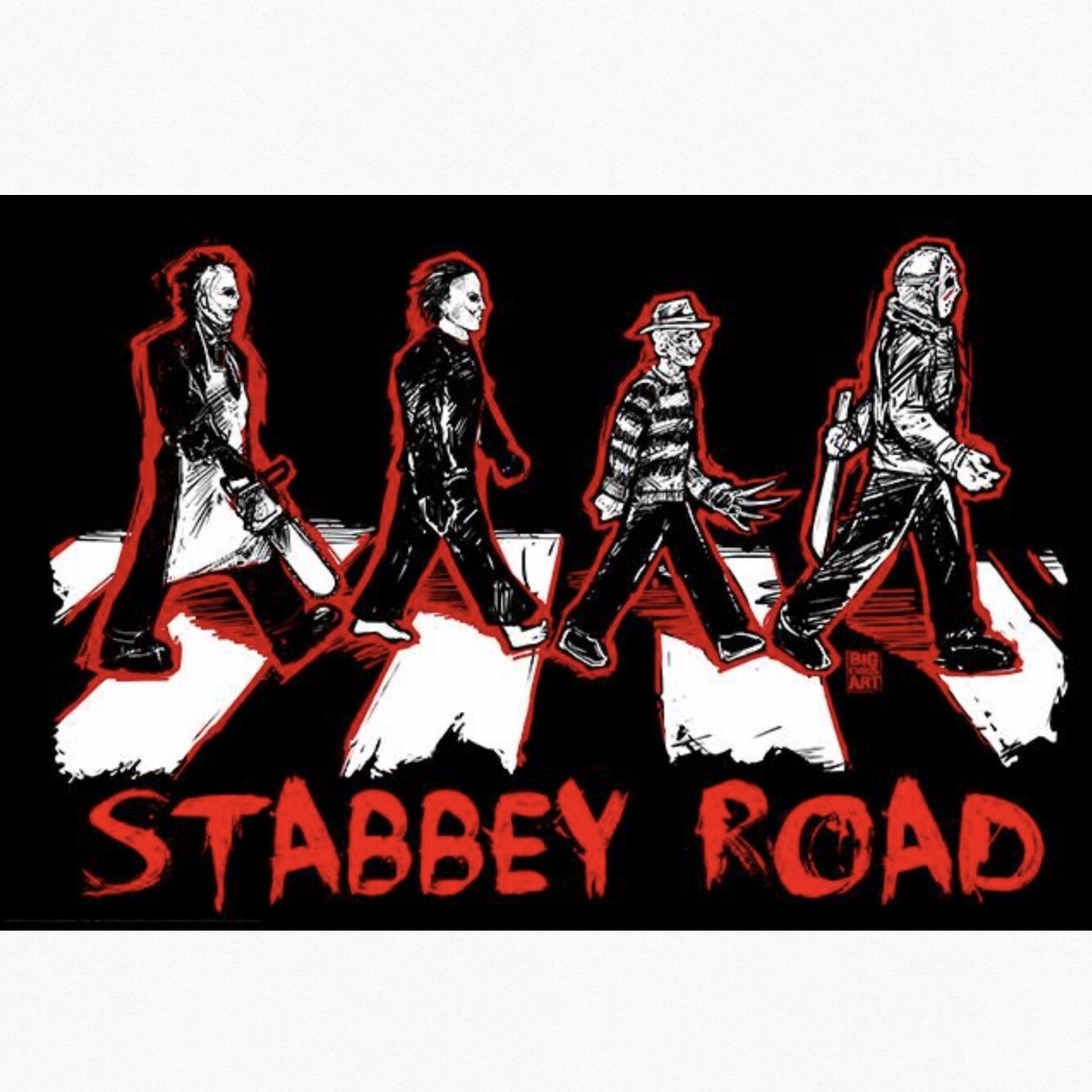 STABBEY ROAD POSTER