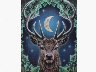 EMPEROR STAG CANVAS ART