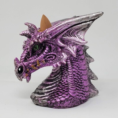 PURPLE DRAGON BUST BACKFLOW BURNER