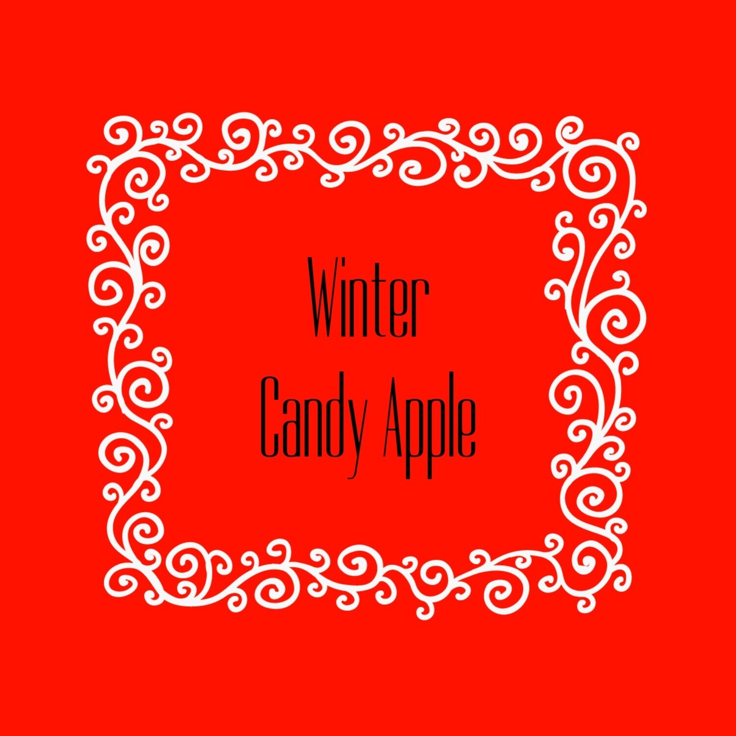 WINTER CANDY APPLE FRAGRANCE OIL