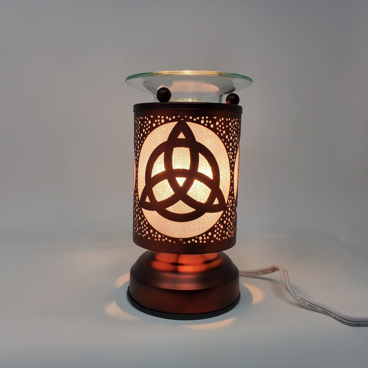 TRIQUETRA COPPER TOUCH LAMP