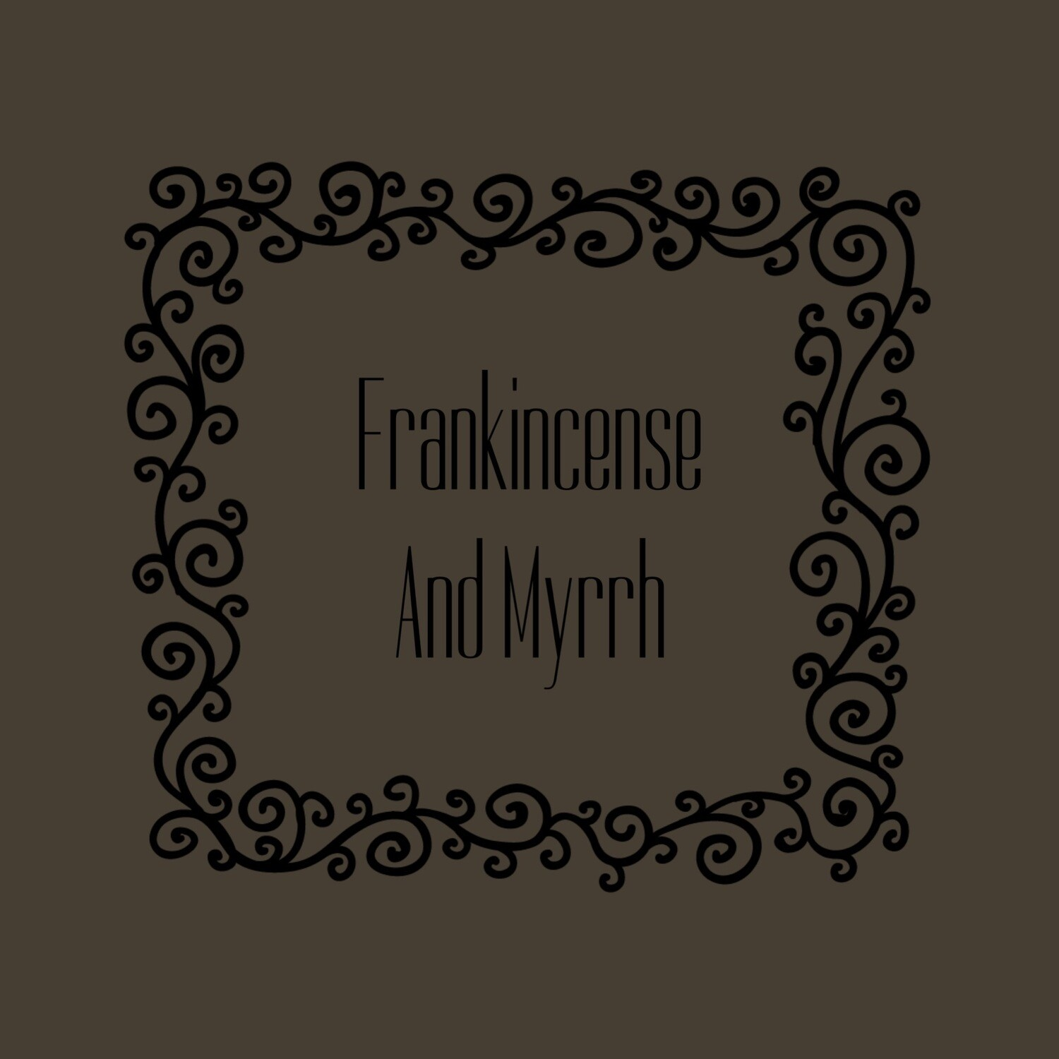 FRANKINCENSE&MYRRH FRAGRANCE OIL