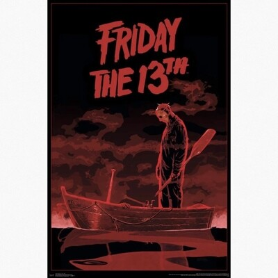 FRIDAY THE 13TH BOAT POSTER