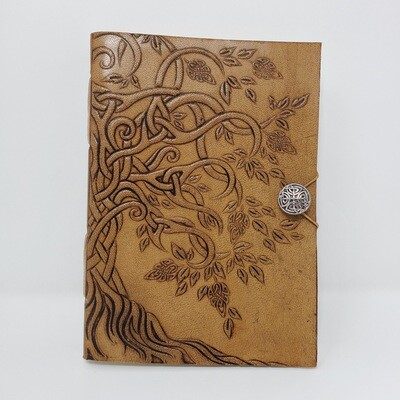 LIFE TREE BUTTON CLOSURE JOURNAL
