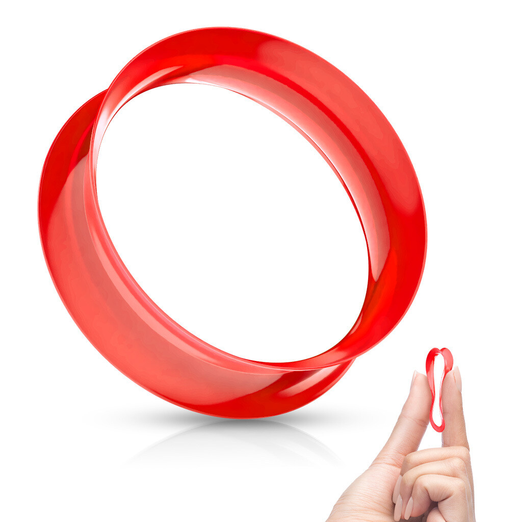 RED SILICONE EYELETS