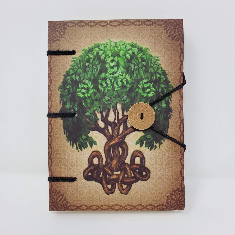 TREE OF LIFE LINEN JOURNAL