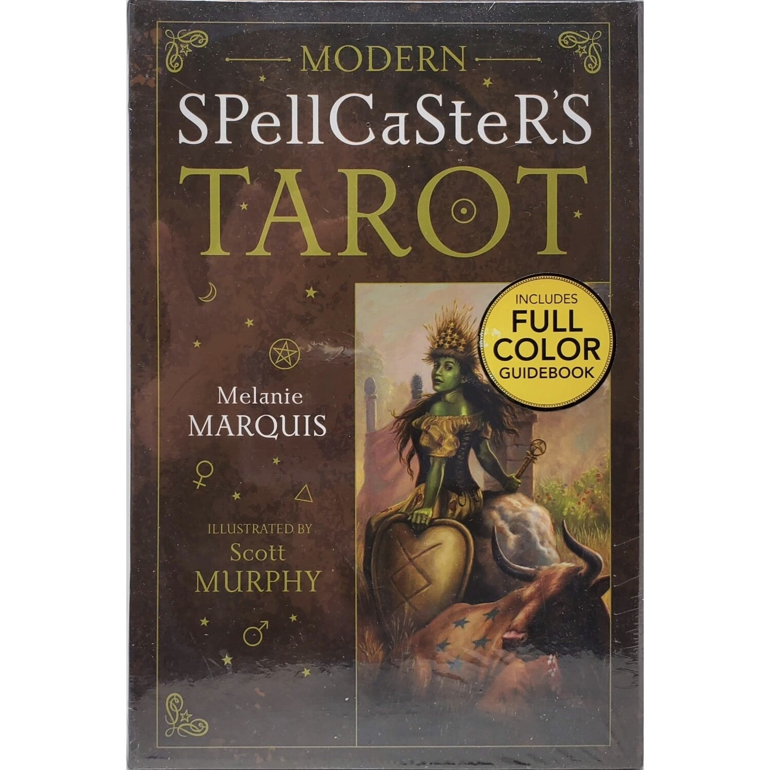 MODERN SPELLCASTER'S DECK AND BOOK