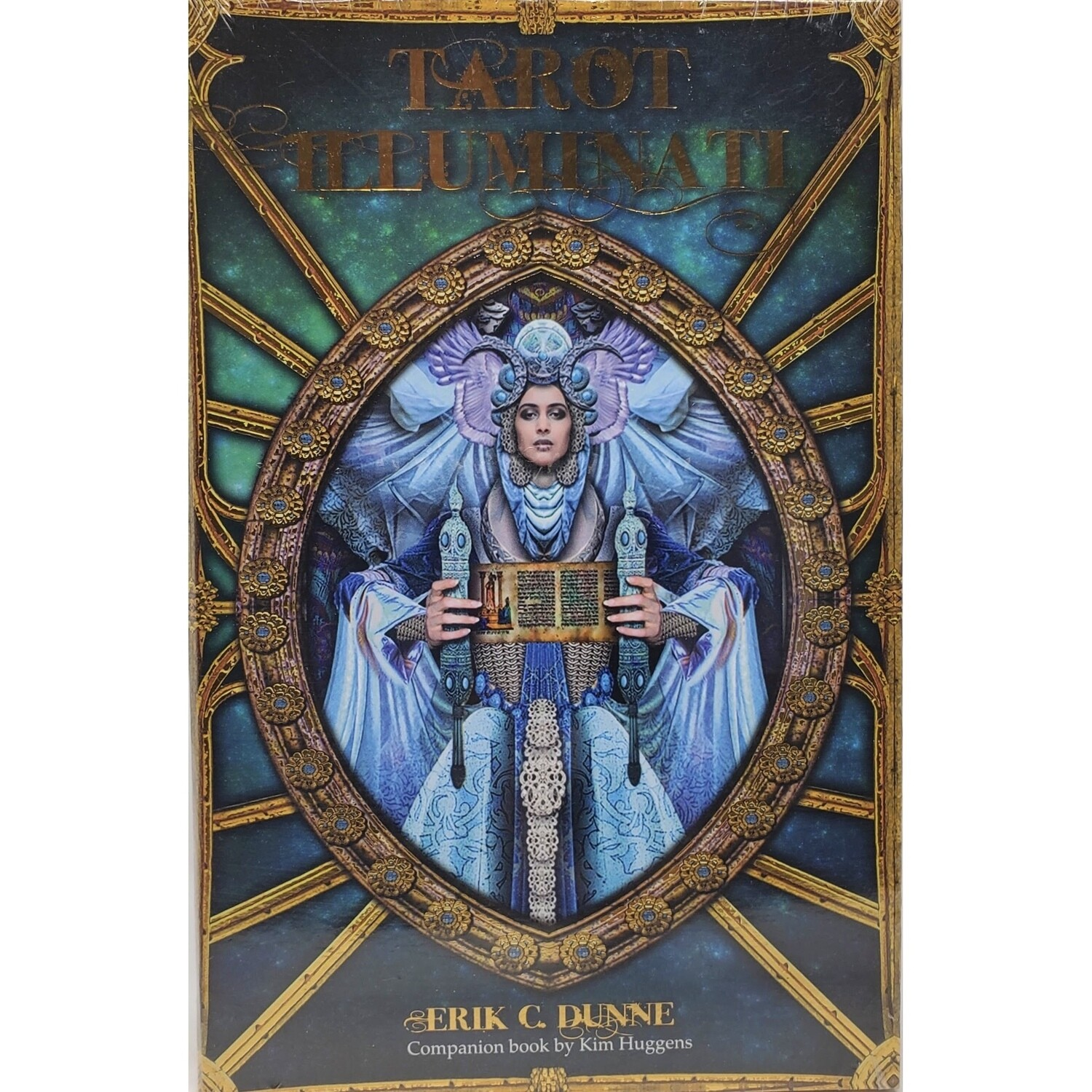 TAROT ILLUMINATI DECK AND BOOK