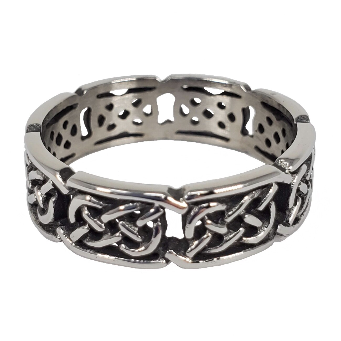 316L CELTIC INTERWOVEN KNOT RING