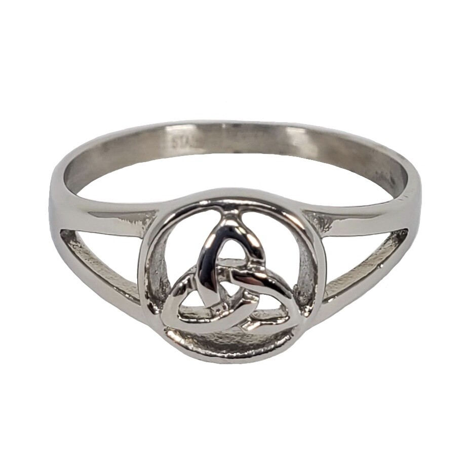 316L CELTIC TRIQUETRA RING