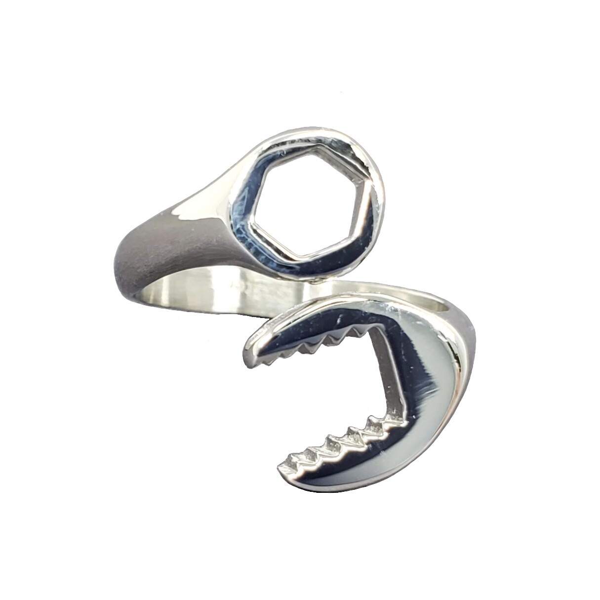 316L WRENCH SHAPE RING
