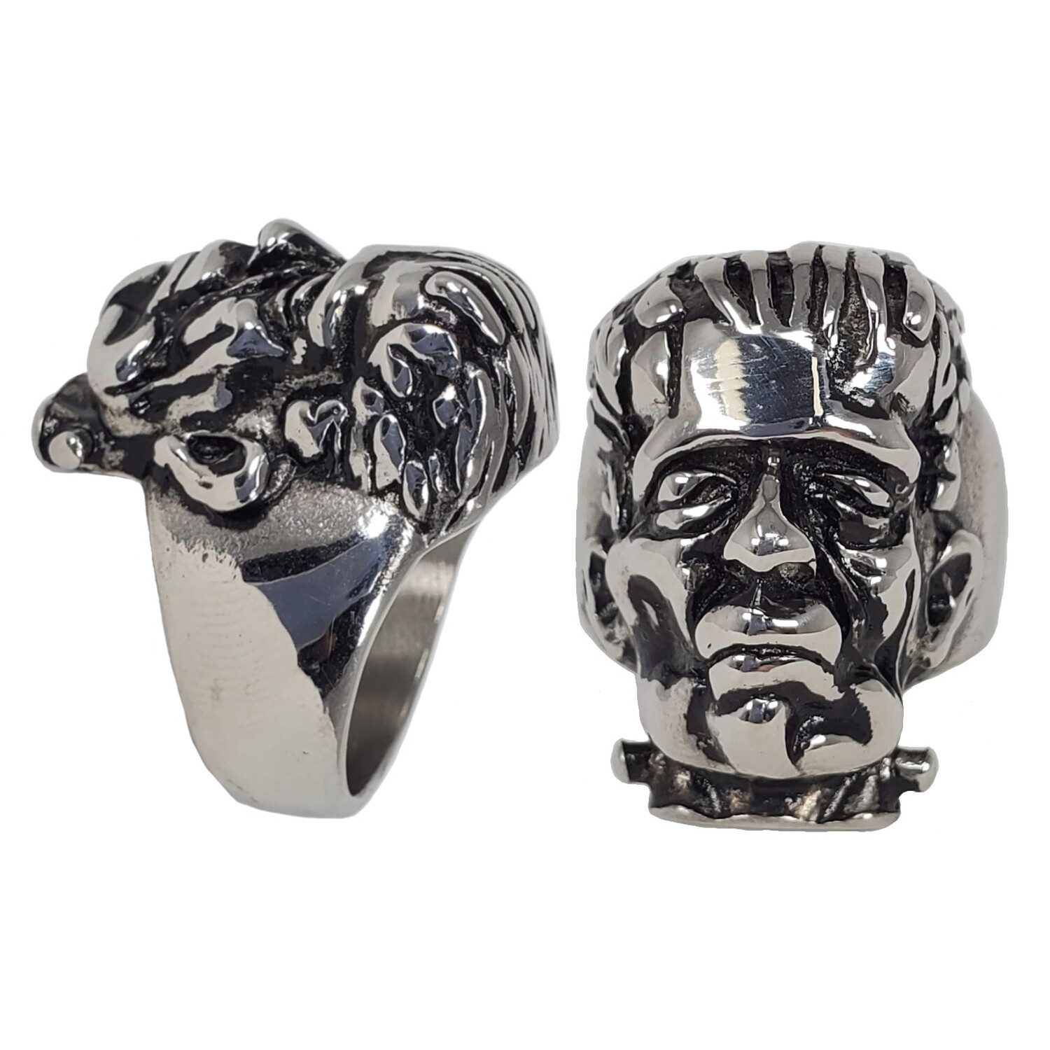 316L FRANKENSTEIN MONSTER RING