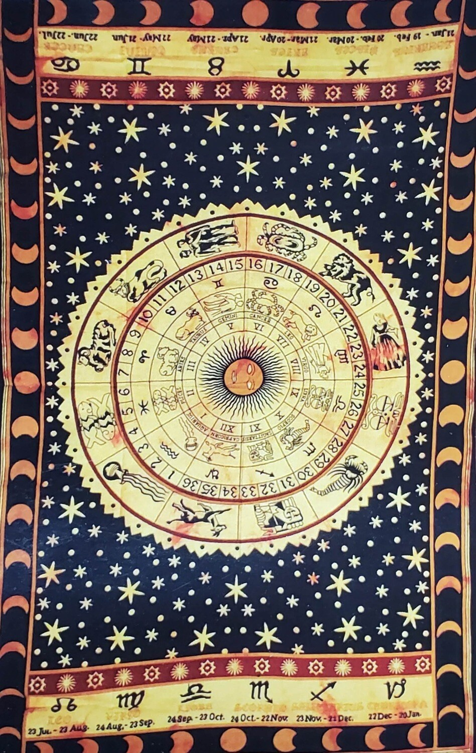 ZODIAC HOROSCOPE TAPESTRY