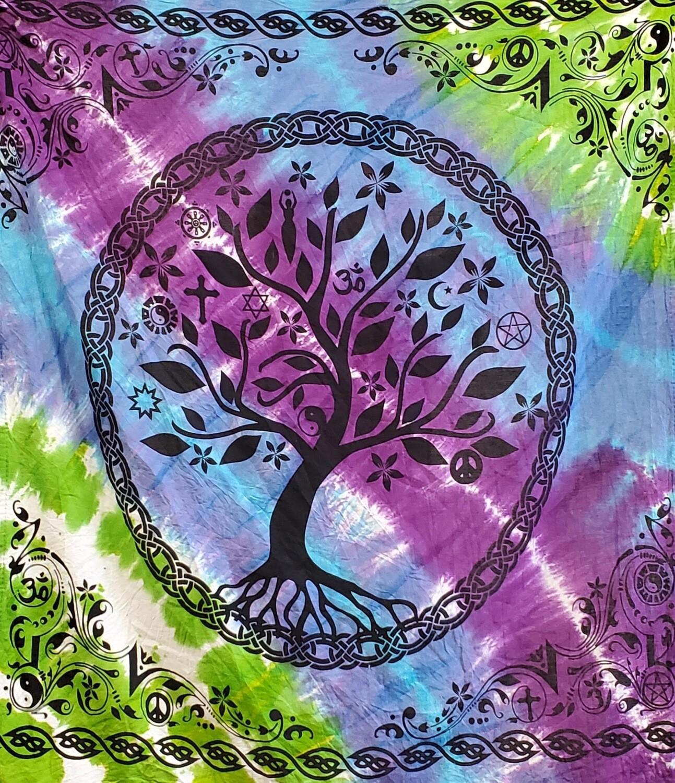 """FAITHS TREE ALTAR CLOTH 36""""x36"""""""