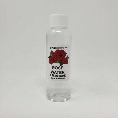 ROSE WATER 2OZ