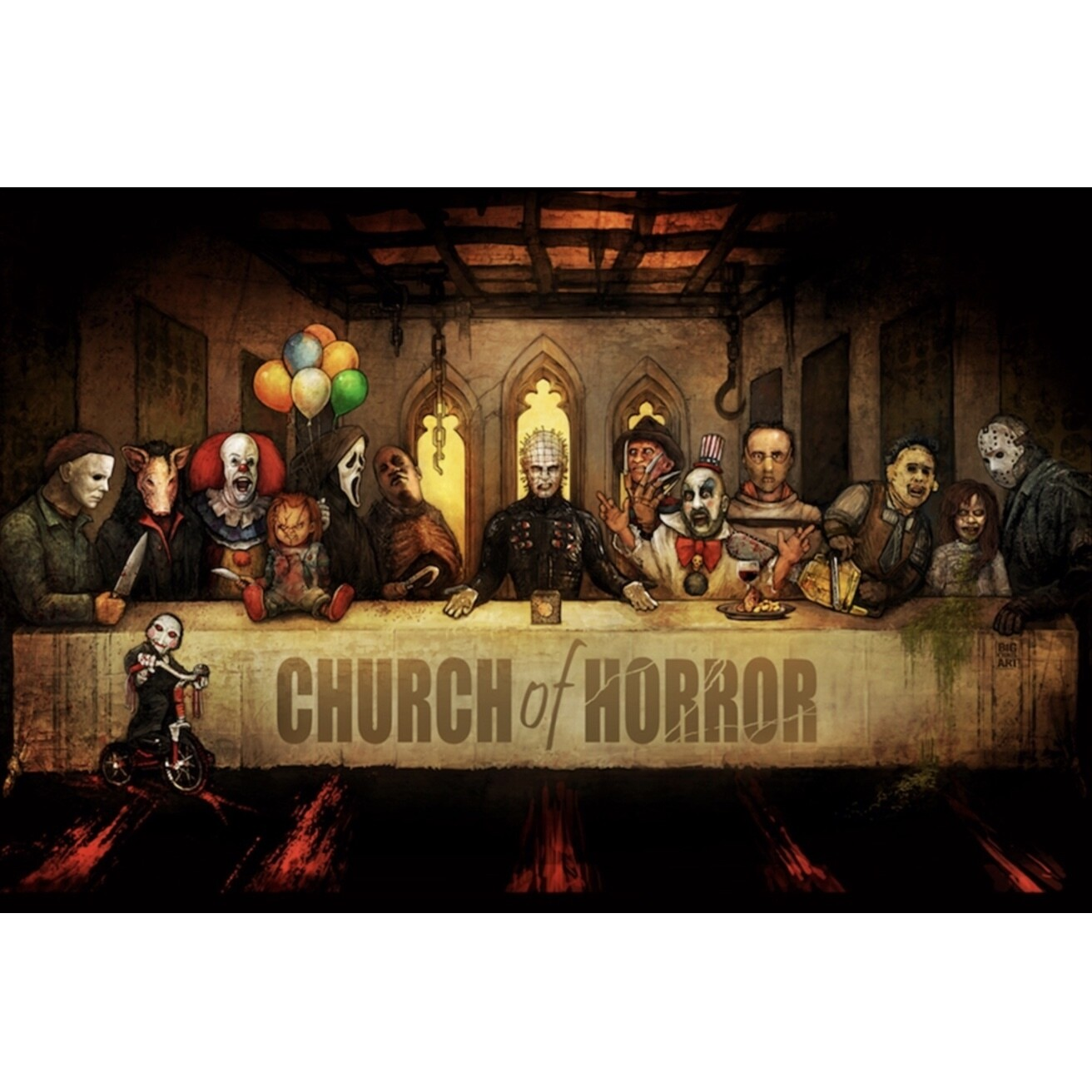 CHURCH OF HORROR POSTER