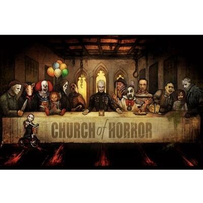 CHURCH OF HORROR POSTER