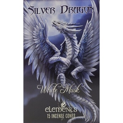 SILVER DRAGON INCENSE CONES