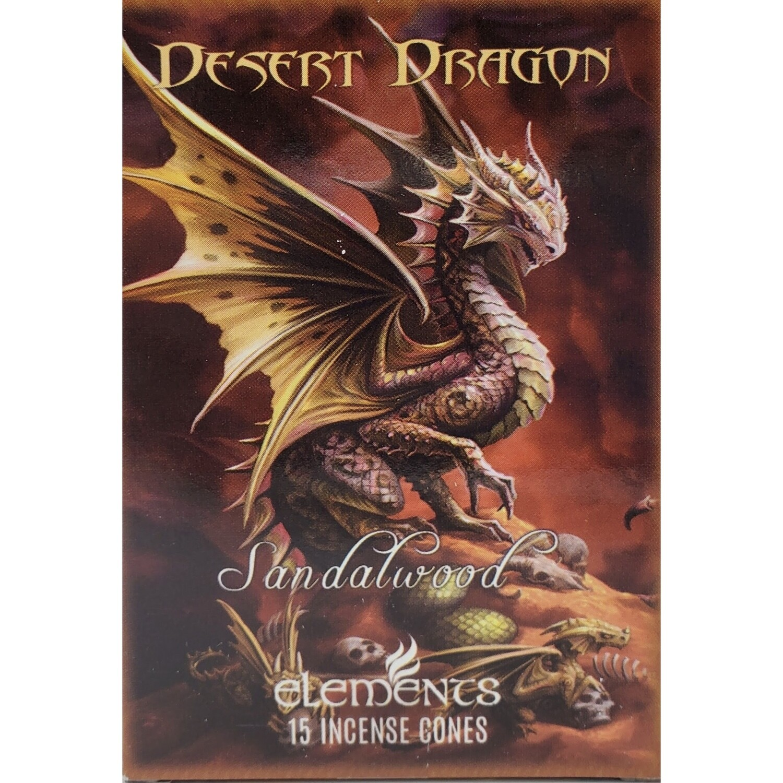 DESERT DRAGON INCENSE CONES