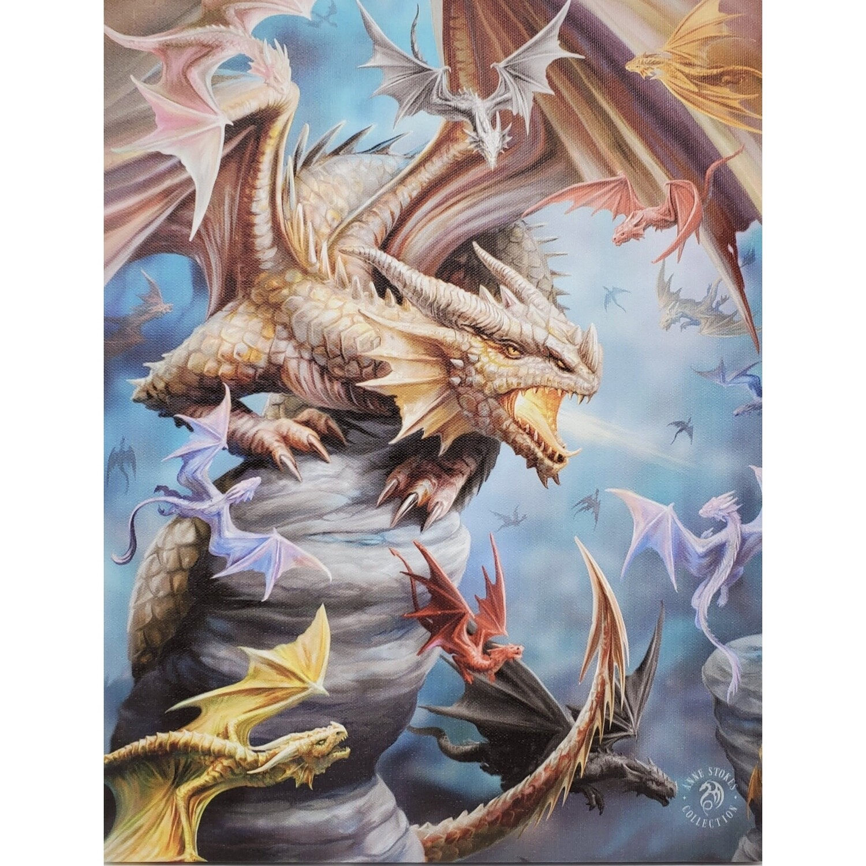 DRAGON CLAN CANVAS ART