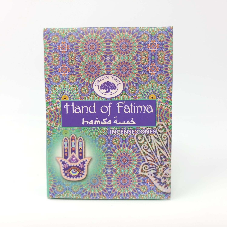 HAND OF FATIMA GREEN TREE CONES