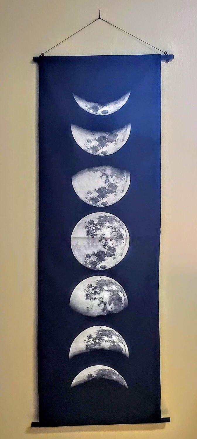MOON PHASES BANNER