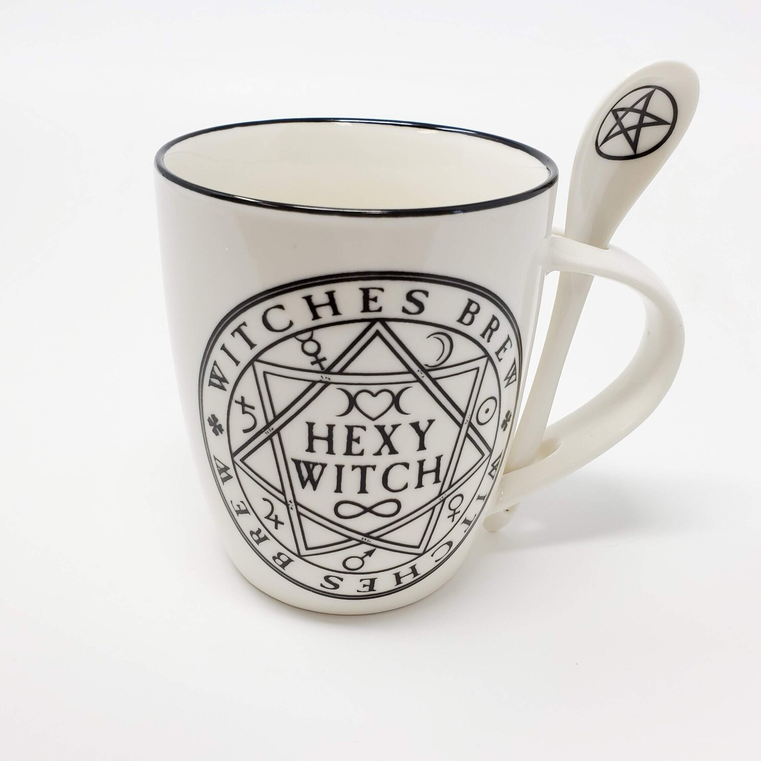 HEXY WITCH MUG&SPOON SET