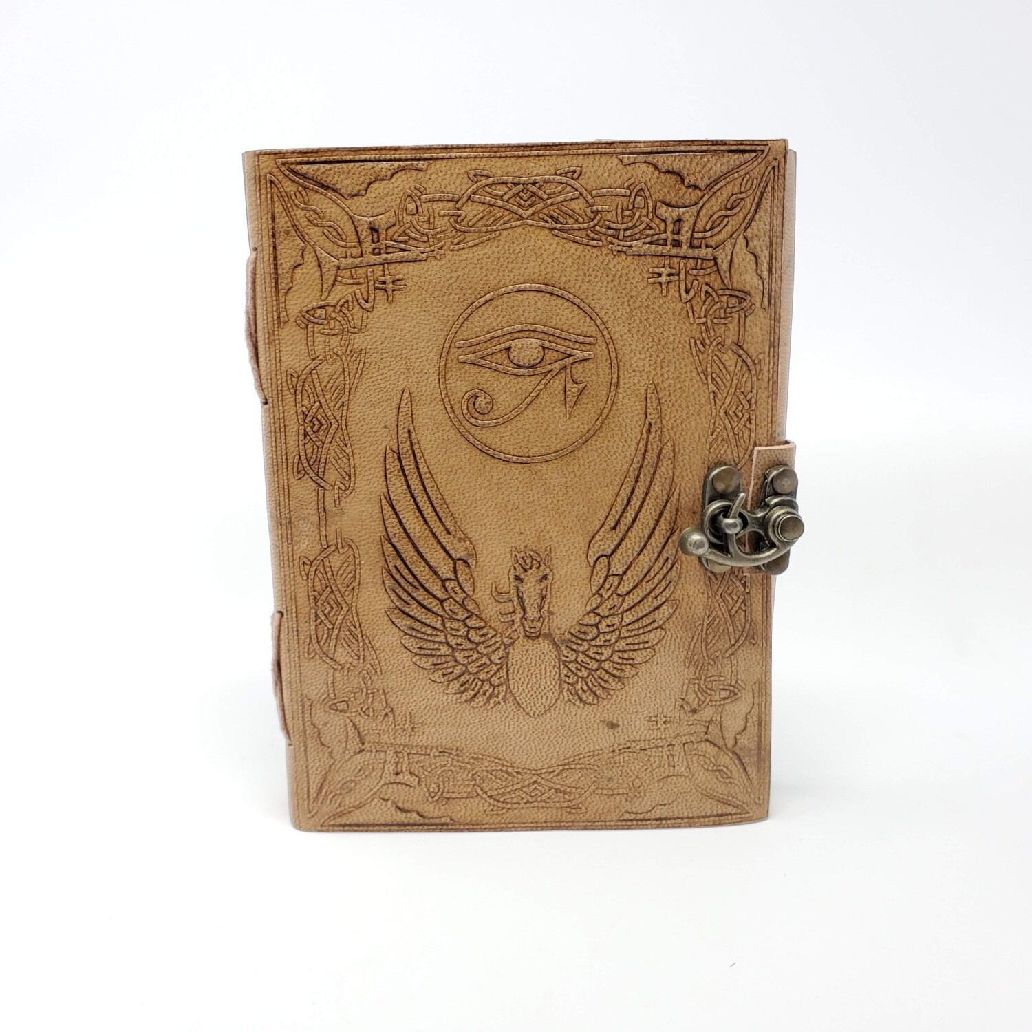 EYE OF HORUS LEATHER LATCH JOURNAL