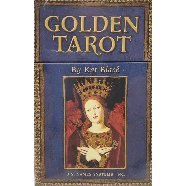 GOLDEN TAROT DECK & BOOK