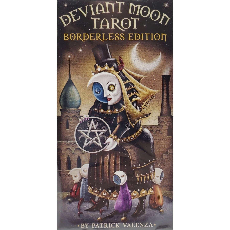 DEVIANT MOON TAROT DECK (BORDERLESS)