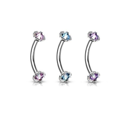 3PK PRONG LT GEM INT EYE 16G 5/16