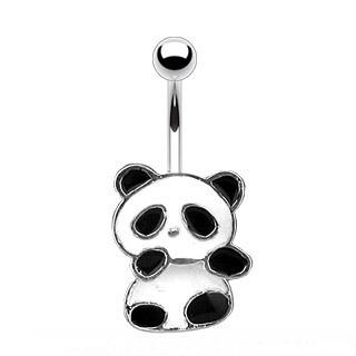 "PANDA BEAR BELL NAVEL 14G 3/8"""