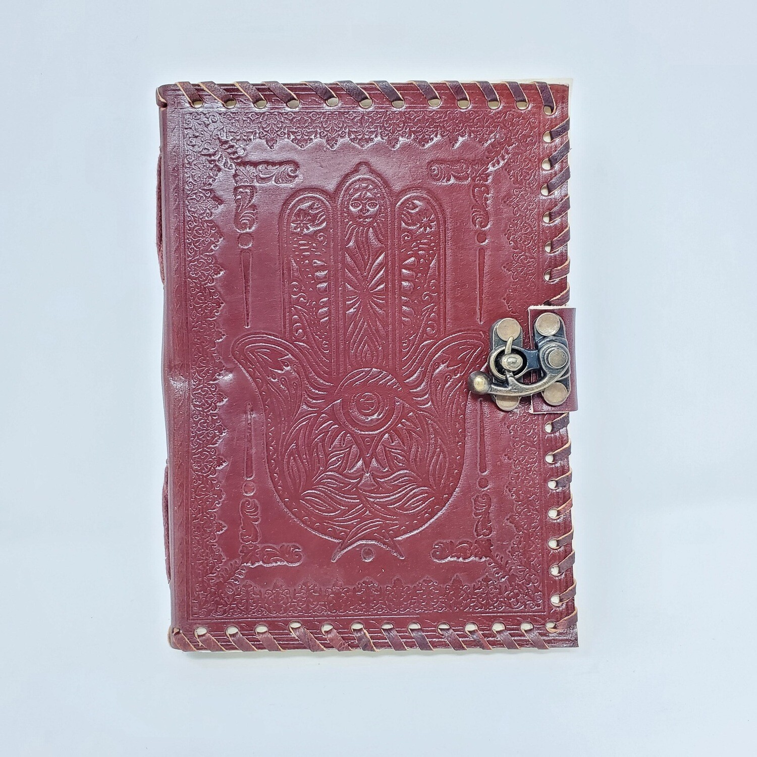 "HAMSA LEATHER JOURNAL 5""x7"""