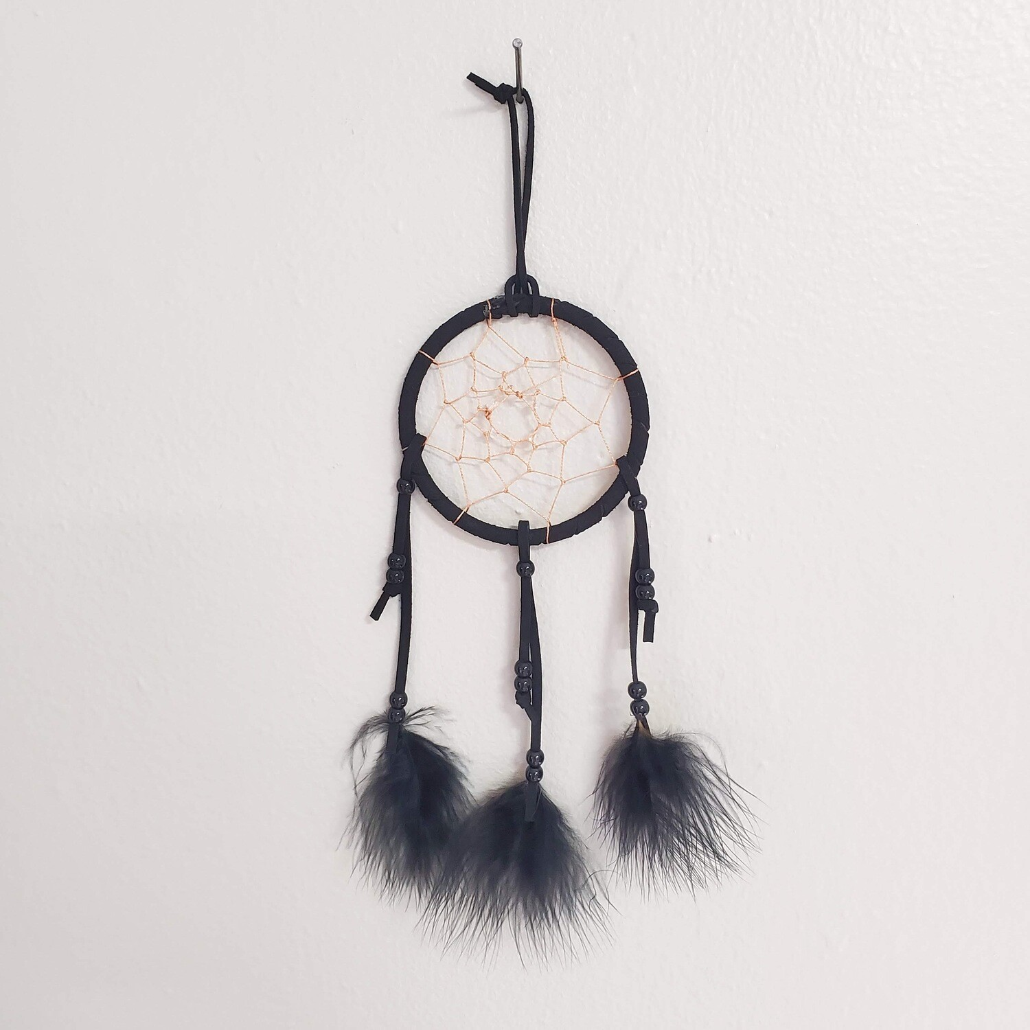 BLACK DREAMCATCHER 4""