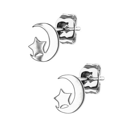 MOON&STAR STUD EARRINGS