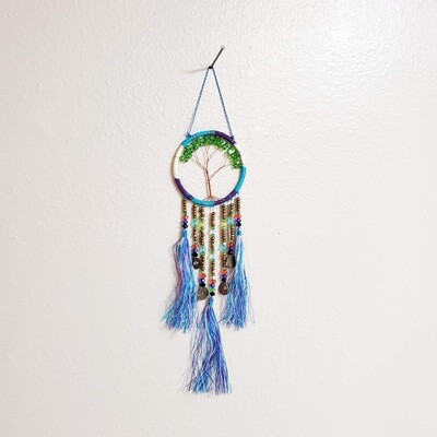 TREE OF LIFE LUCKY COIN DREAMCATCHER