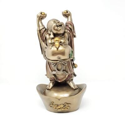 HAPPY BUDDHA ON NUGGET