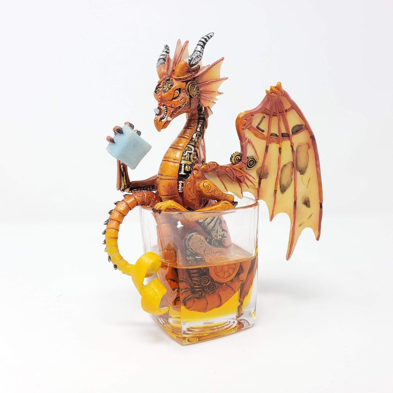 STEAMPUNK DRINKIN' DRAGON
