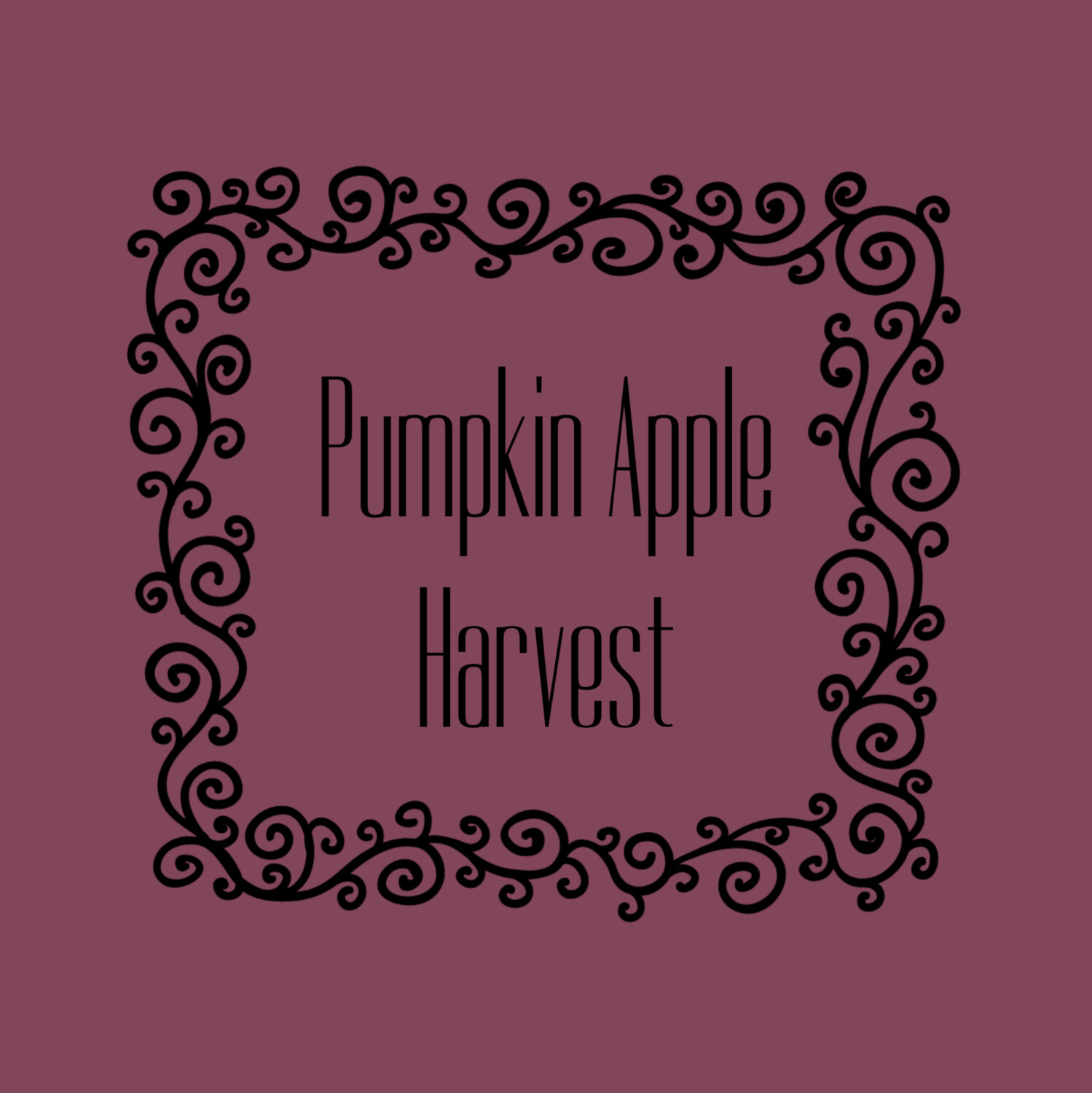 PUMPKIN APPLE HARVEST FRAGRANCE OIL
