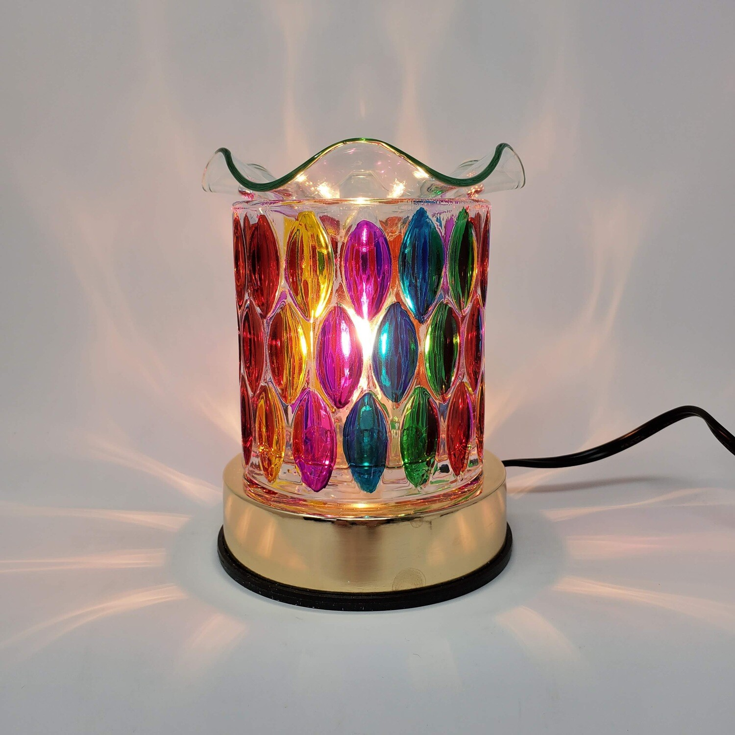 RAINBOW OVALS TOUCH LAMP