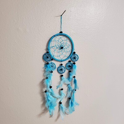 SKY BLUE DREAMCATCHER 4.5