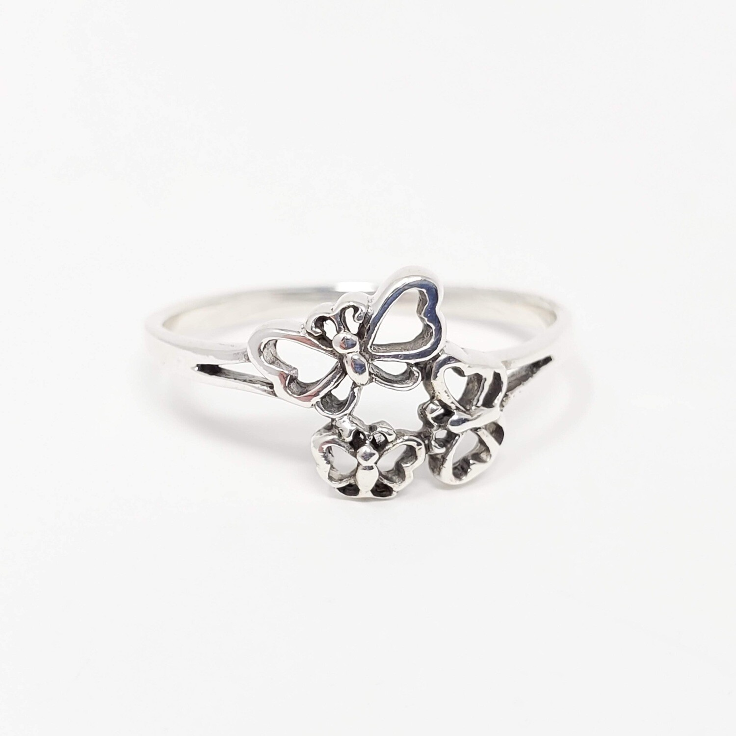 925 BUTTERFLY FAMILY RING